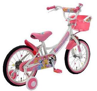 自転車の キッズ 自転車 おしゃれ 16インチ : ディズニー の プリンセス が大 ...